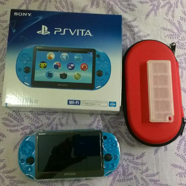 PS Vita Aqua Blue (slim) - RESERVED