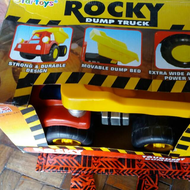 Rocky Dump Truck