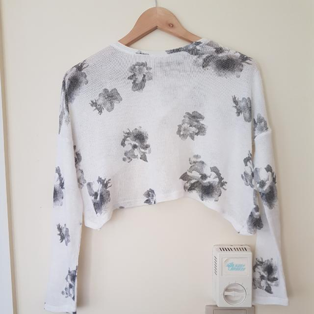 Rosebullet Knit Lightweight Crop Jumper Size 10