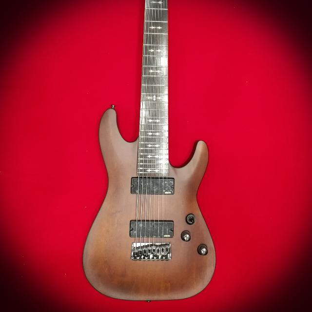Schecter Guitar Omen 8 Walnut Satin