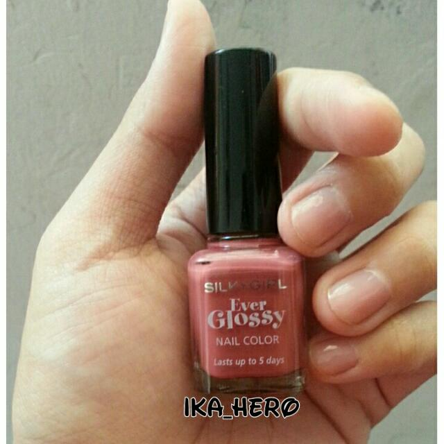 Silky Girl - Ever Glossy - Nail Color - Shade Hot Marsala