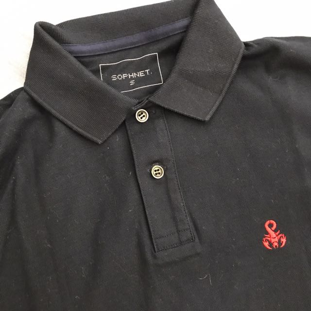 Sophnet Navy Polo