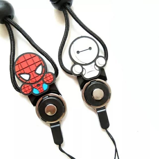 Spider Man / Baymax Lanyard / Marvel Superhero Lanyard