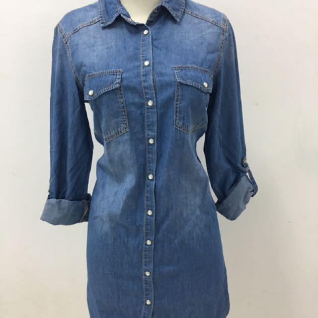 Stradivarius Jeans Dress