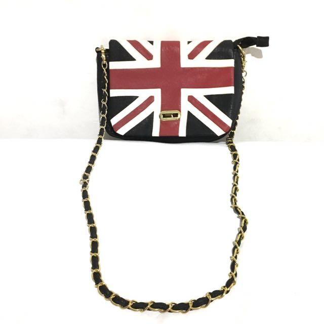 Tas Selempang Bendera Union Jack Inggris