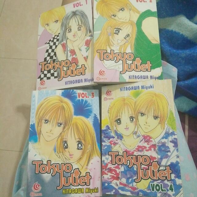 Tokyo Juliet Vol 1-4