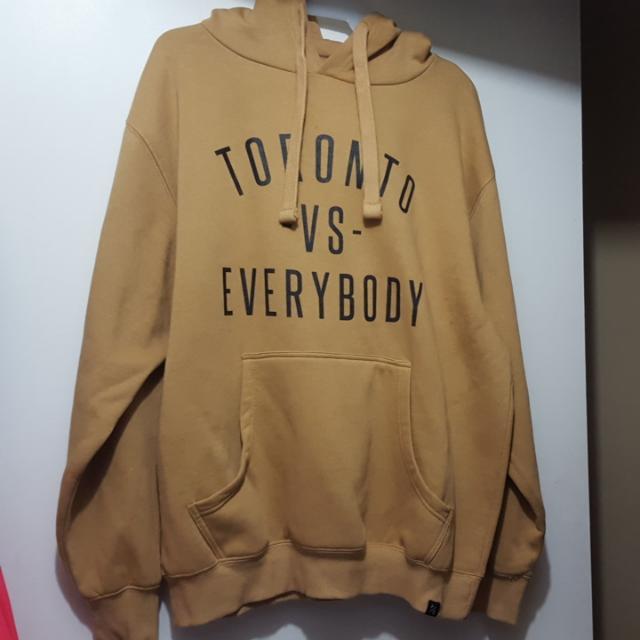 REDUCED $ - TORONTO VS EVERYBODY HOODIE
