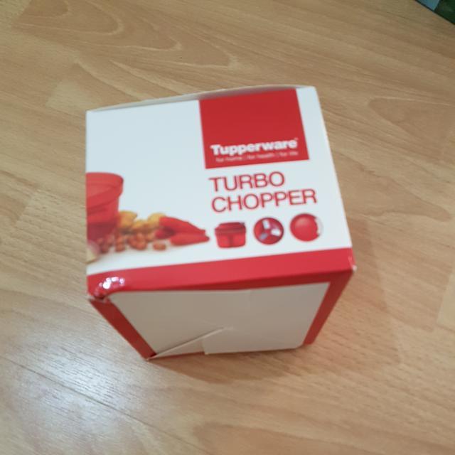 turbo chopper tupperware
