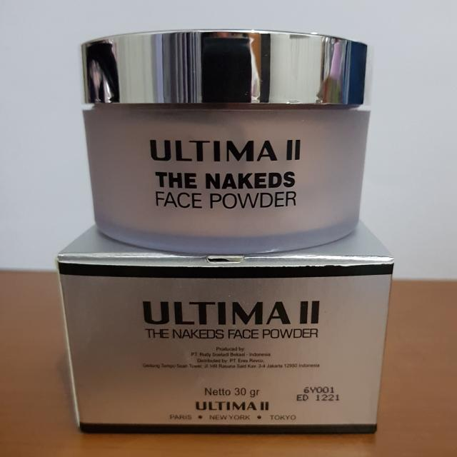 ULTIMA II The Nakeds Face Powder (4L)
