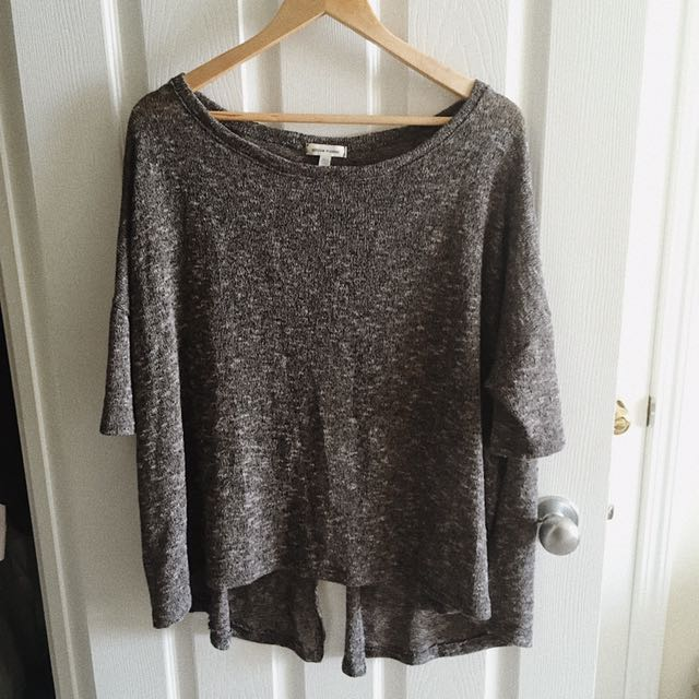 Urban Outfitters Open-Back Knit