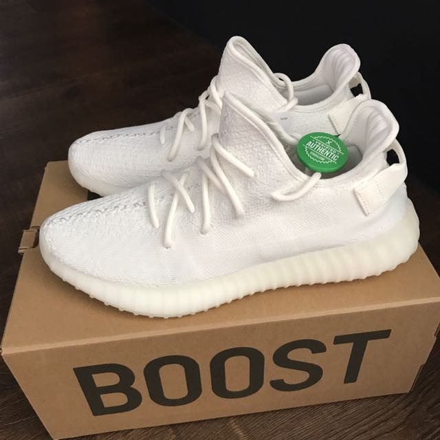 602a4fc945627 Us10 Adidas Yeezy Boost 350 Cream Brand New StockX   Kanye Nmd Boost ...