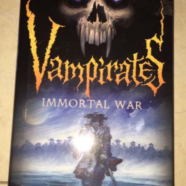 Vampirates Immortal War - Justin Somper