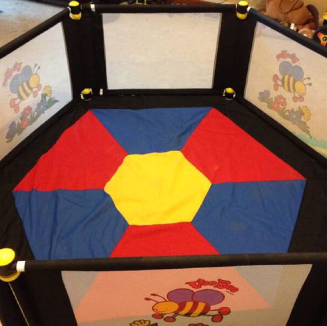 VeeBee 6sided Baby Play Yard