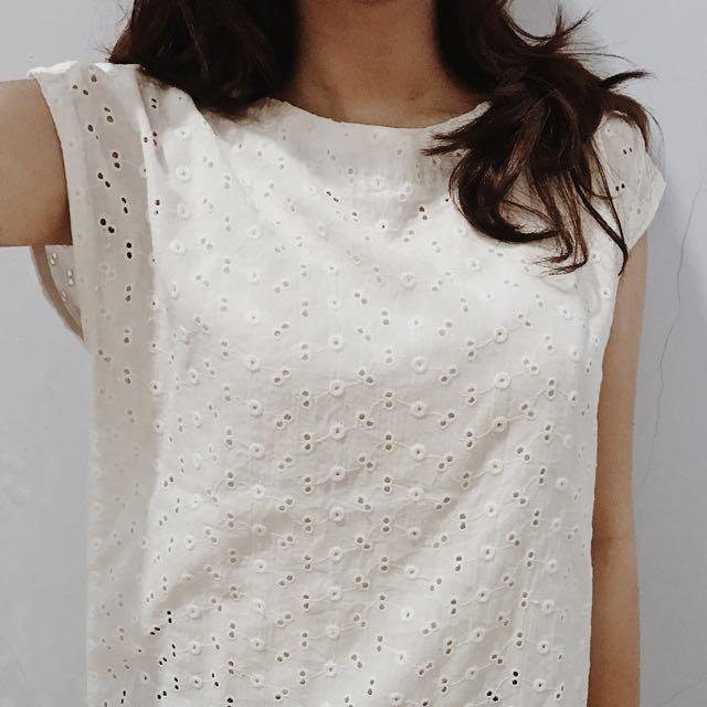 PRELOVED White Shirt (no Brand)