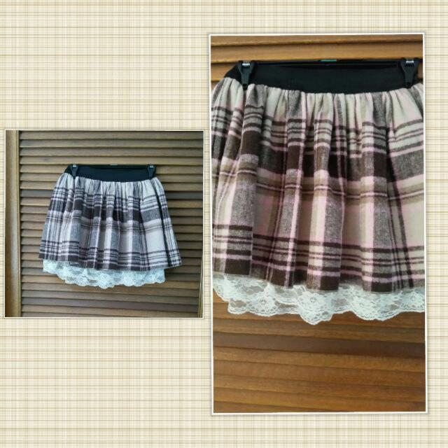 Winter Skirt Flannel - From Japan