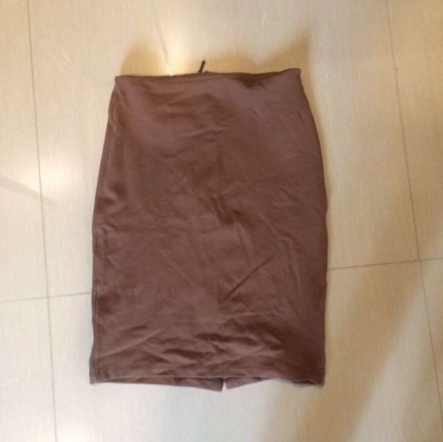 REPRICE! Zara Basic Skirt