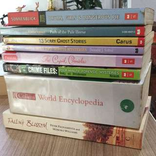 [RM10 for 3] Assorted English Novels