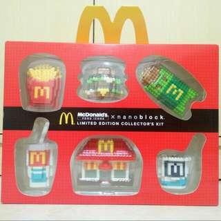 McDonald's Limited Edition Nanoblock