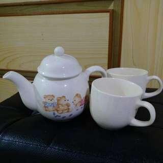 茶壺杯子組