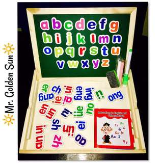Magnetic Letters Drawing White/Black Board