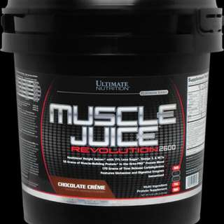 11.1lbs Ultimate Nutrition Muscle Juice®Revolution 2600