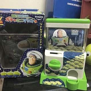 toy story 反斗奇兵 扭蛋機(三眼仔,巴斯光年)