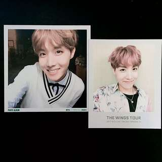BTS 3rd MUSTER PHOTO ALBUM + WINGS TOUR TICKET BOOK PHOTOCARD (JHOPE SET)