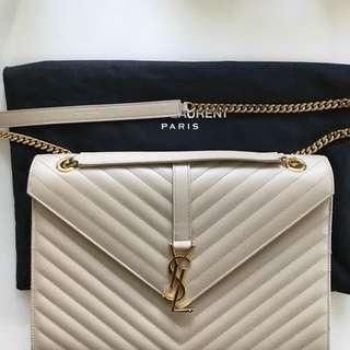 YSL Shoulder Monogram Chain Bag