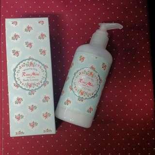韓國Evas玫瑰香水保濕身體乳-寶貝嫩香