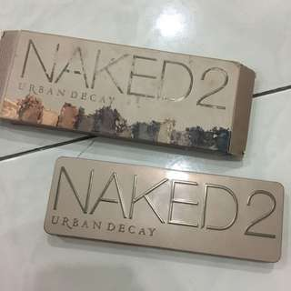 NAKED 2 eyeshdow pallete