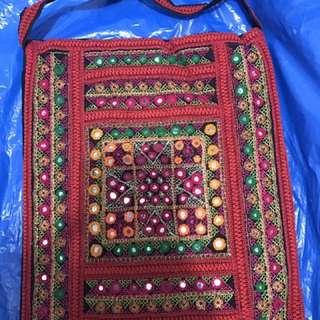 Handmade Embroidered Bag