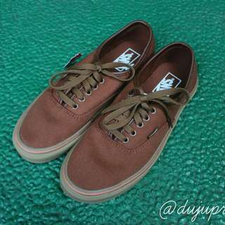 Vans Authentic Brown And Gum