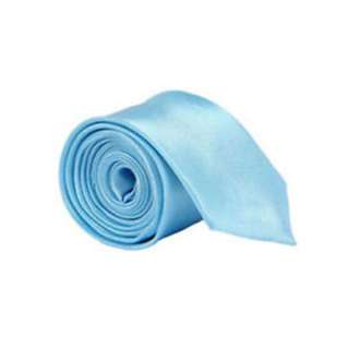 Woven Silk Tie Necktie Wedding Party Light Blue