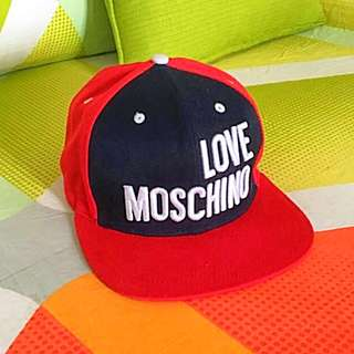 AUTHENTIC MOSCHINO snap back