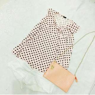 Polka Dots Top / Small - Medium