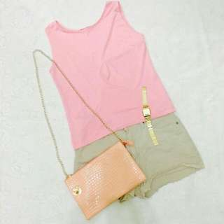 Pink Sleeveless / Medium