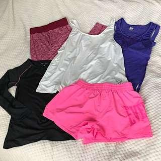 Bunch Of Gym Wear
