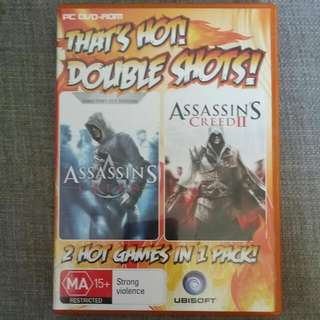 Assassin's creed 1 And 2