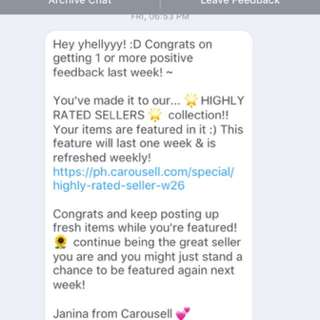 Highly Rated Reseller ♥️