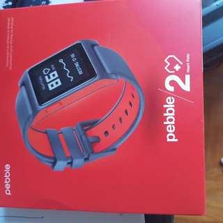 Pebble 2 Heart Rate Smart Watch