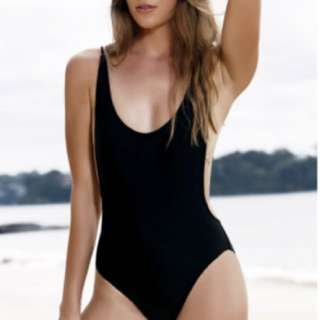 High Cut Backless One-piece