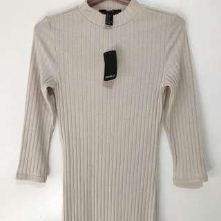 Forever 21 Mock Net Knit Dress