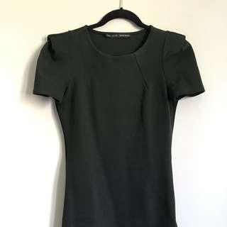 Zara Fitted Sleeve Dress