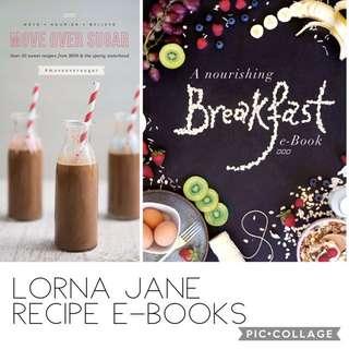 Lorna Jane Recipe E-Books