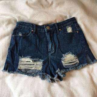 Glassons Ripped Shorts