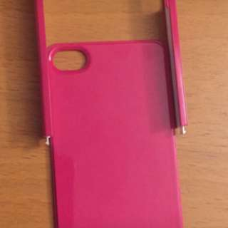 Hot Pink iPhone5/5S Bumper Case
