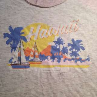 Hawaii Cotton On Body Top