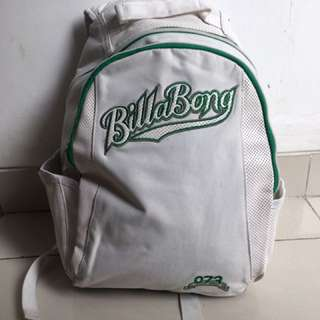 Tas Sekolah Billabong // Billabong's Backpack