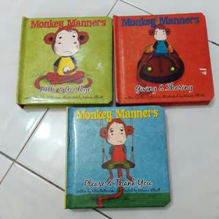 Monkey Manners (3 Books-RM10)