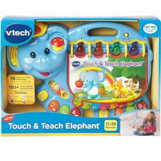 Vtech Touch And Teach Elephant (Best Price In Town)